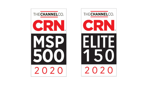 CRN MSP 500 and Elite 150 Awards for 2020