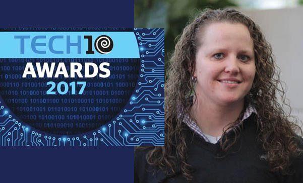 2017 Tech10 Award Annette Niemczyk